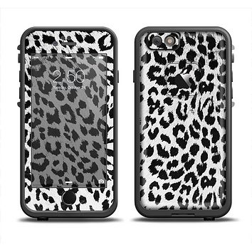 The Vector Leopard Animal Print Apple iPhone 6 LifeProof Fre Case Skin Set