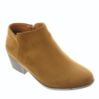 Bradee-07 Faux Suede Classic Bootie