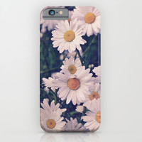 Daisies iPhone & iPod Case by Hyakume