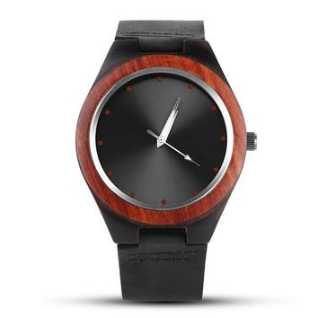 Mens Creative Wooden Watch Men