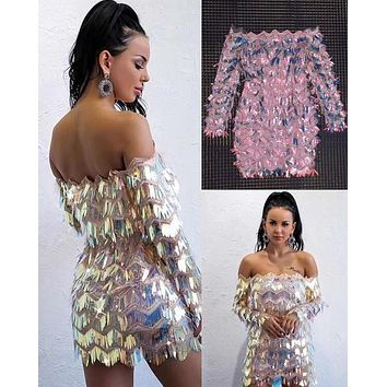 Georgeous Sparkling Dress SD18
