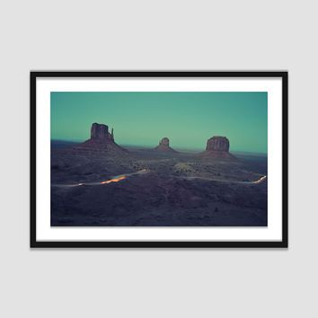 Framed Print - Night Drive