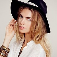 Lovely Bird + Free People Womens Buenos Aires Floppy Hat