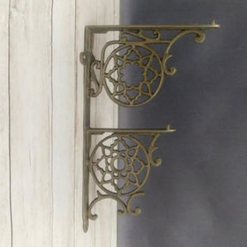Bracket/ Shelf Bracket/ Metal Shelf Bracket/ Metal Bracket/ Iron Bracket/ Hanging Planter/ Jewelry Hook/ Architectural salvage