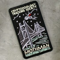 Cryptozoology Tracking Society: Mothman Patch