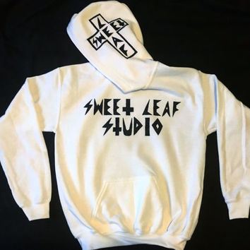 sweet leaf studio hoody