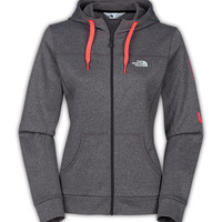 The North Face Women's Shirts & Tops WOMEN'S Run NYC FAVE-OUR-ITE FULL-ZIP HOODIE