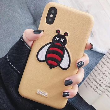Perfect Dior Phone Cover Case For iphone 6 6s 6plus 6s-plus 7 7plus 8 8plus iPhone X XS XS max XR