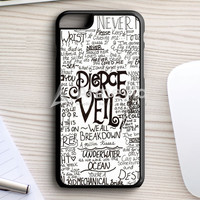 Pierce The Veil Song Lyric iPhone 7 Plus Case | armeyla.com