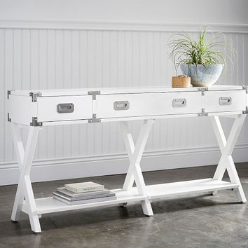 DEVON CAMPAIGN CONSOLE TABLE