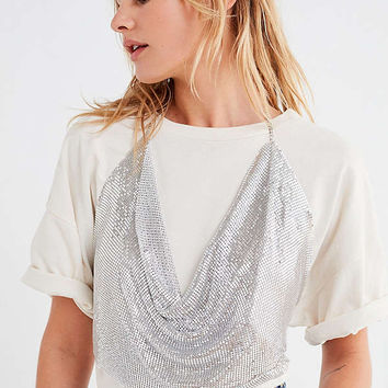 8 Other Reasons Kenny Cropped Tank Body Chain | Urban Outfitters