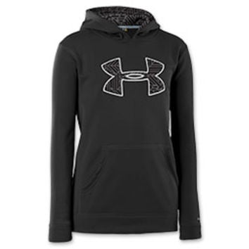 Kids' Under Armour Fleece Storm Big Logo Hoodie