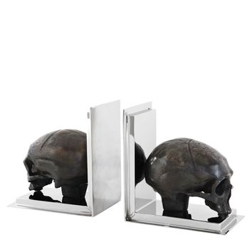 Eichholtz Bookend Skull - Set of 2