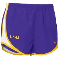Nike LSU Tigers Purple Ladies Tempo Shorts