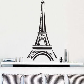 Vinyl Wall Art Decal Sticker Paris Eiffel Tower Decor #159