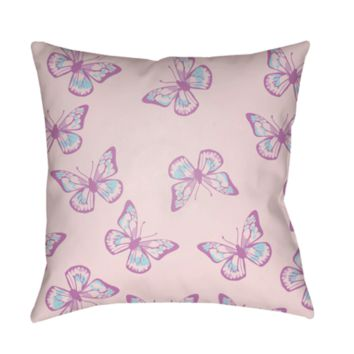 Butterflies Pillow ~ Pink
