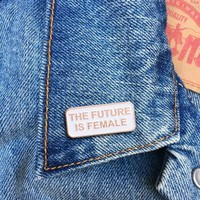 The Future Is Female -- Enamel Pin
