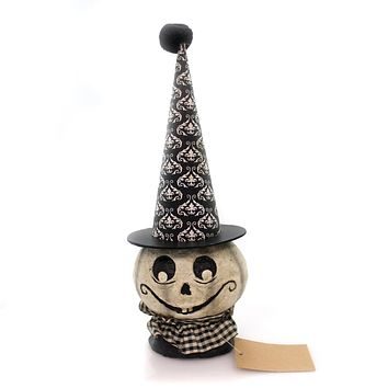 Halloween White Ghost Paper Mache Halloween Figurine
