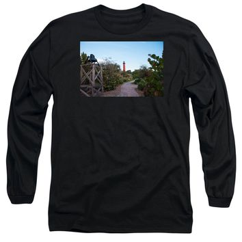 Path To Jupiter Lighthouse - Long Sleeve T-Shirt