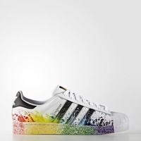 adidas LGBT Superstar Shoes - White | adidas US