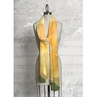 Yellow Rose Scarf
