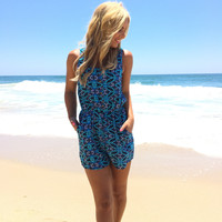 Blue My Mind Romper