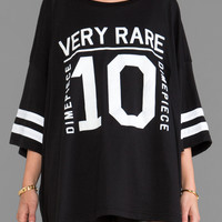 Dimepiece Very Rare Oversized Tee in Black