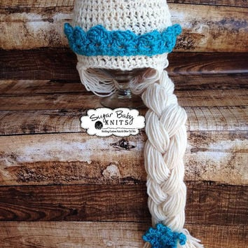 Disney Princess Frozen Elsa Hat - Custom Order Size & Color