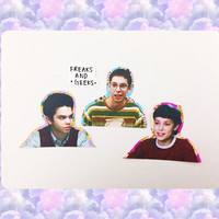 Freaks and Geeks Stickers (Geeks) - Set of 4