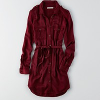AEO TWILL SHIRTDRESS