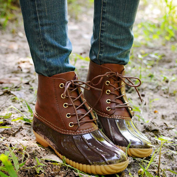 Tonkka Duck Boot Brown