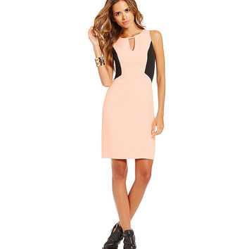 Gianni Bini Leticia Colorblock Sheath Dress | Dillards