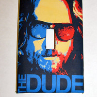 Light Switch Cover - Light Switch Plate Big Lebowski The Dude