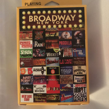 Broadway Playing Cards