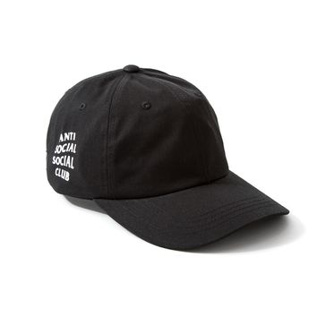 ANTI SOCIAL SOCIAL CLUB — WEIRD CAP - BLACK