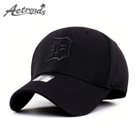 Spandex Elastic Fitted Hats Sunscreen Baseball Cap Men or Women casquette bone aba reta