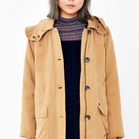 OBEY Fairfield Fleece-Lined Hooded Jacket - Urban Outfitters