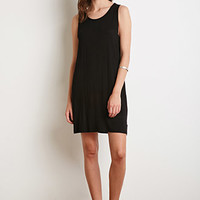 Side-Cutout Knit Dress