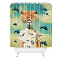 Natt Portrait n 2 Shower Curtain