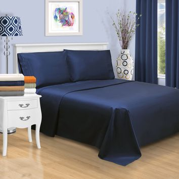 Egyptian Cotton 800 Thread Count Embroidered Sheet Set   Overstock.com Shopping - The Best Deals on Sheets