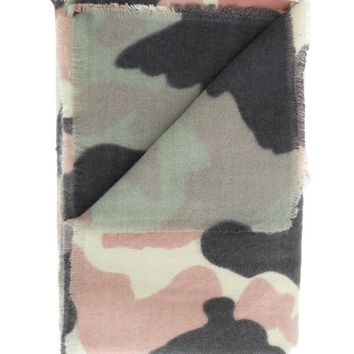 Channing Camo Blanket Scarf