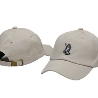 White Drake 6 God Baseball Cap