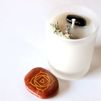 Root Chakra Votive Soy Candle