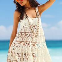 Lace Cover-up Dress