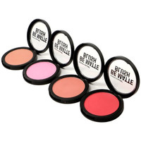 Matte Blush set of 4 color Makeup Cosmetic Facial Beauty By City Color
