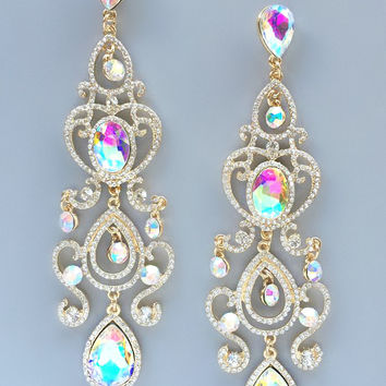 Noor Swarovski Earrings