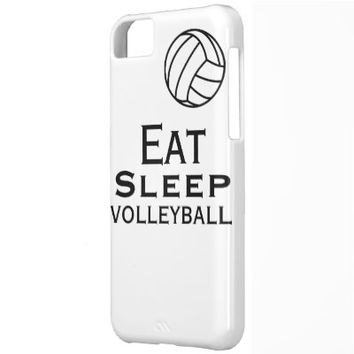 Eat. Sleep. Volleyball Case iPhone 5 Case