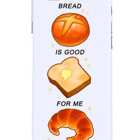 Bread is good for me iphone case