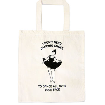 Dancing Shoes Tote Bag