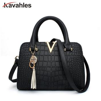 Crocodile leather Women Bag Designer Handbags Luxury quality Lady Shoulder Crossbody Bags fringed women Messenger Bag PP-1131
